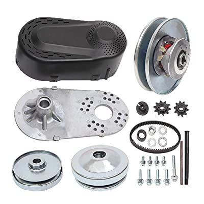 """MOOSUN Torque Converter Comet Clutch Go Kart Clutch 1 Inch Replaces Comet TAV2 Manco 10T 40 or 41 and 12T 35 Chain Drive Belt (1"""" 10T 40/41 and 12T 35 Chain): Automotive"""