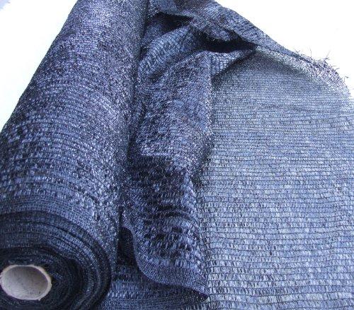 EasyShade Blk40 Sunblock Black 40% Shade Cloth UV Resistant Fabric 20ft x 100 ft