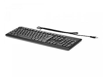 HP QY776AA - Teclado (USB, PC/server, oficina, 1.8 m,