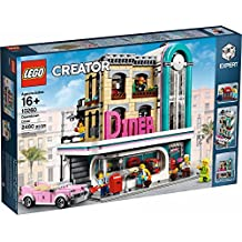 LEGO 10260 Creator Downtown Dinner Building Kit (2480 Pieces)