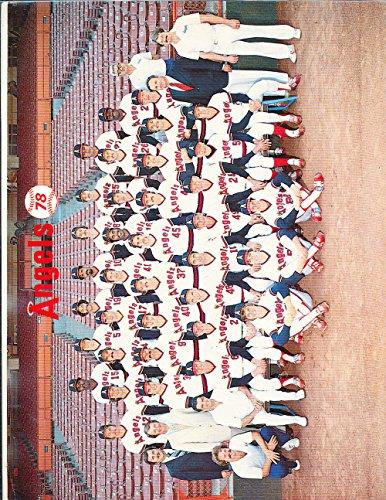 1978 California Angels Team photo -