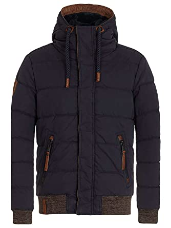 NAKETANO Men Was Erlauben Strunz Jacket for Men Black