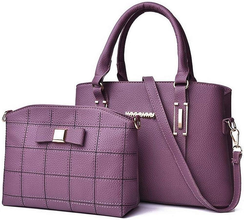 Sopetify Shoulder Bag Messenger Bag Handbag Bow Child Two-Piece Handbag Ladies Shoulder Bags