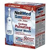 NeilMed Sinugator Cordless Pulsating Nasal Wash - 1 kit (Pack of 1) by NeilMed