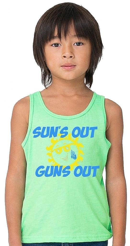 SoRock Kid's Sun's Out Guns Out Tank Top
