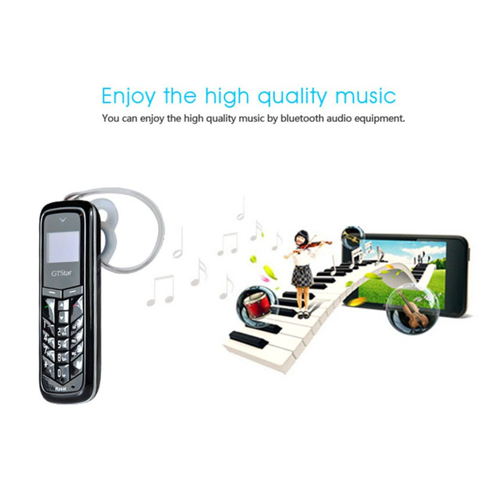 Mini tel/éfono Celular m/óvil para ni/ños Anciano Mayor de GTstar Mini Celular BM50