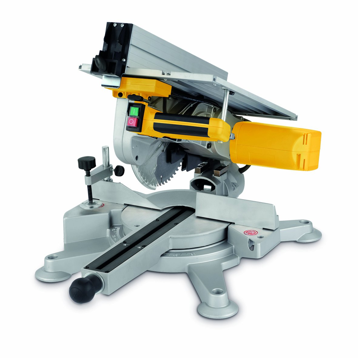 Combination Saw Bench Part - 48: Powerplus 254mm 1800 Watt Combination Mitre / Table Saw POWX0782 - 3 Year  Home User Warranty: Amazon.co.uk: DIY U0026 Tools
