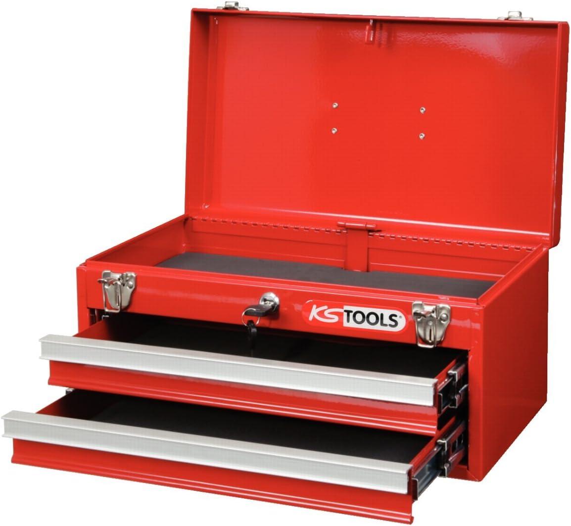 KS Tools 891.0002 - Caja de herramientas (2 cajones, 1 bandeja ...