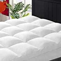 CHOPINMOON Twin Mattress Topper Extra Thick, Cooling Mattress Topper, Plush Quilted Pillow Top with Overfilled 4D Spiral…