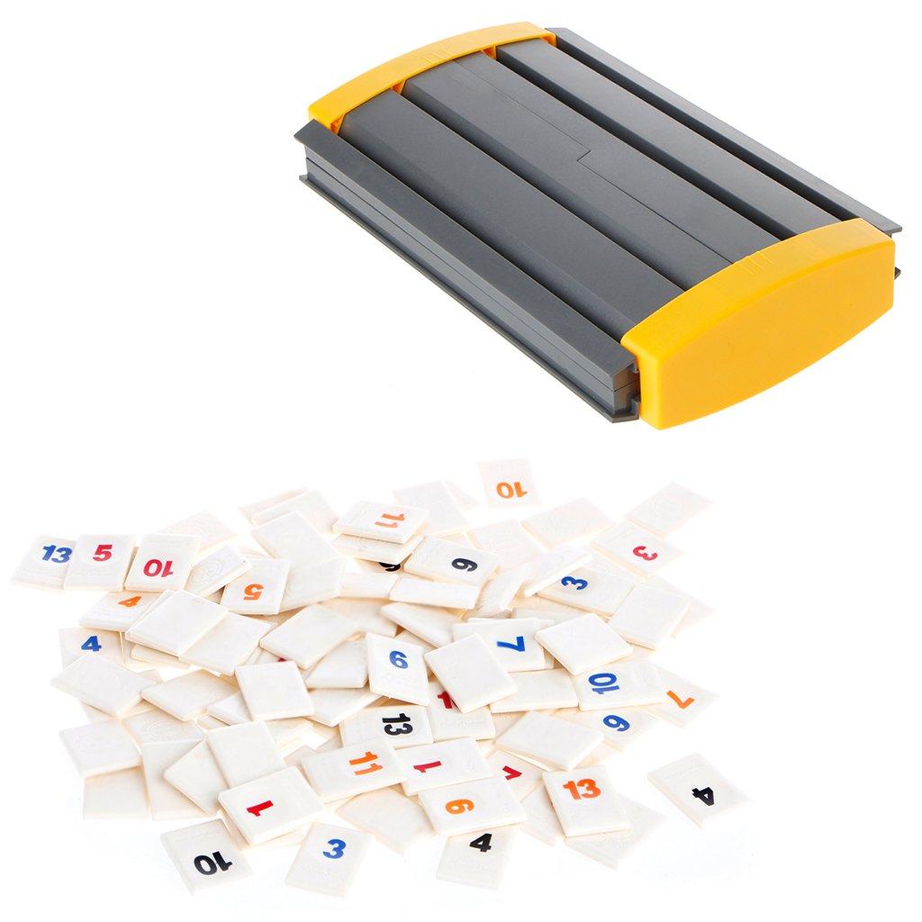 Coldtoy The Original Rummikub, 106 Digital Board Game Israel Mahjong, Family Travel toy