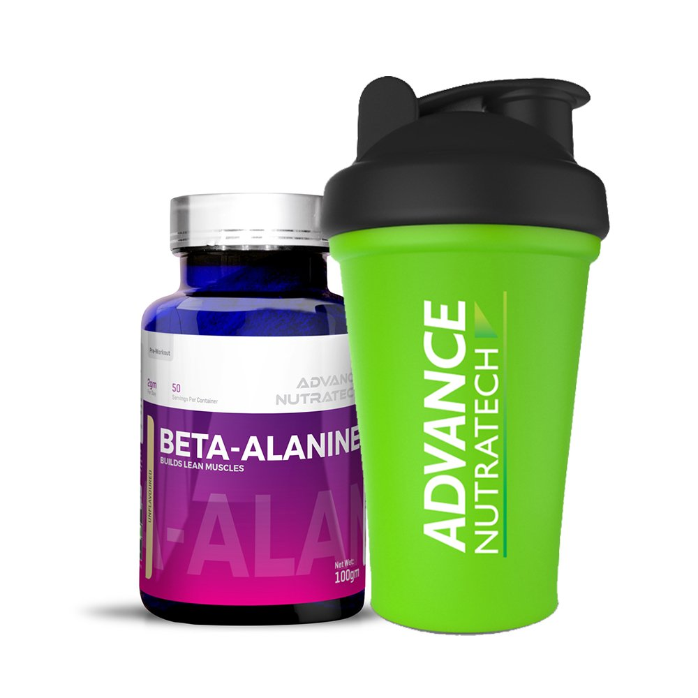 Beta-Alanine Pre-workout 100 gm Unflavoured with Shaker