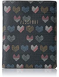 Fossil Rfid Passport Wallet-hearts Pass Case