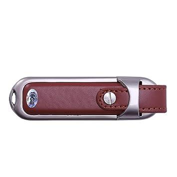 TOOGOO Pen Drive Capacidad Real Llavero Cuero USB 2.0 Flash ...