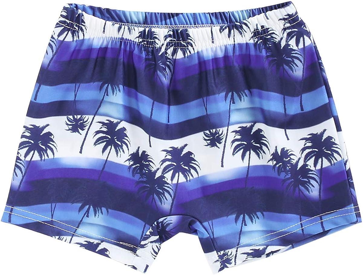 Baby Boy Swim Trunks,Toddler Boy Leaf Beach Swim Shorts Bathing Suit Summer Quick Dry Swimwear Outfit Clothes
