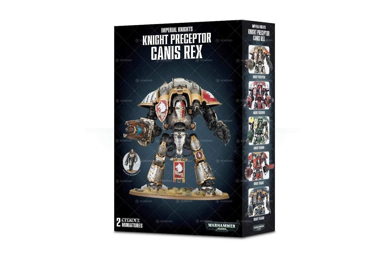 Games Workshop Warhammer 40,000 Knight Preceptor Canis Rex by Games Workshop
