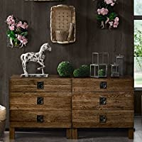 INK+IVY Oaktown Dresser Reclaimed Grey See below