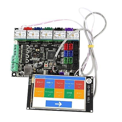 Leslaur Accesorios de impresora 3D Pantalla táctil WiFi a todo ...