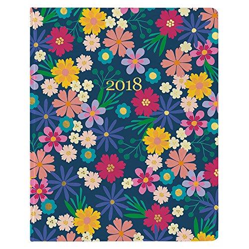Horizontal Planner (Erin Condren 2018 Hardbound LifePlanner- Floating Florals, 8x10)