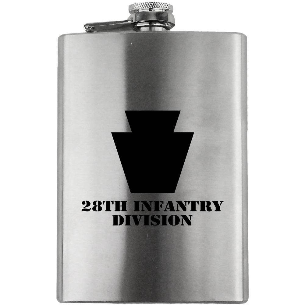 【驚きの値段で】 Army 28th Infantry Division 28th Subdued Division 8オンス Subdued。フラスコ B010CCJWGI, 家具インテリア雑貨のMashup:ce808f40 --- demo.woxpedia.com