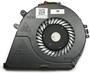 CAQL CPU Cooling Fan for HP Envy Touchsmart M6-K025DX M6-K122DX M6-K125DX M6-K010DX M6-K012DX M6-K015DX M6-K022DX M6-K026DX, P/N: 725445-001 728132-001 DC28000CLS0 Sunon EF50060S1-130-S9A 5V 2.25W