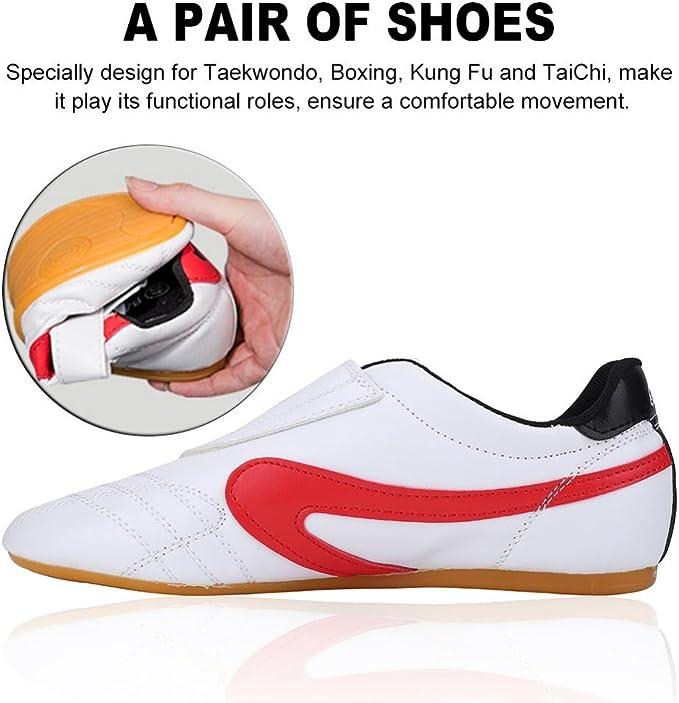 Zapatillas para Taekondo 1 par Zapatillas de Entrenamiento para Practicando Taichi y Kung Fu con Bolsa de Transporte