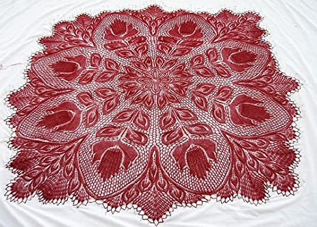 Amazon Lyra A Knitted Lace Pattern By Herbert Niebling Kit Yarn