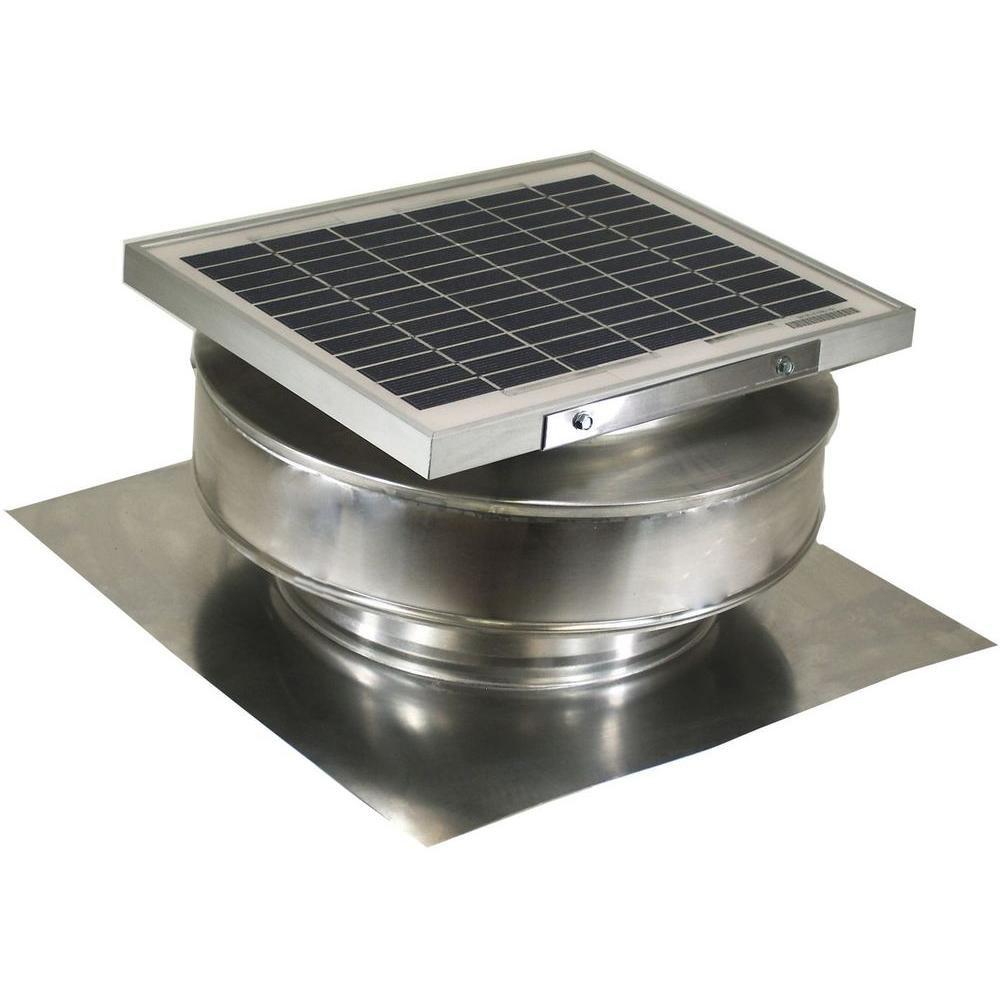 5-Watt Solar-Powered Exhaust Attic Fan