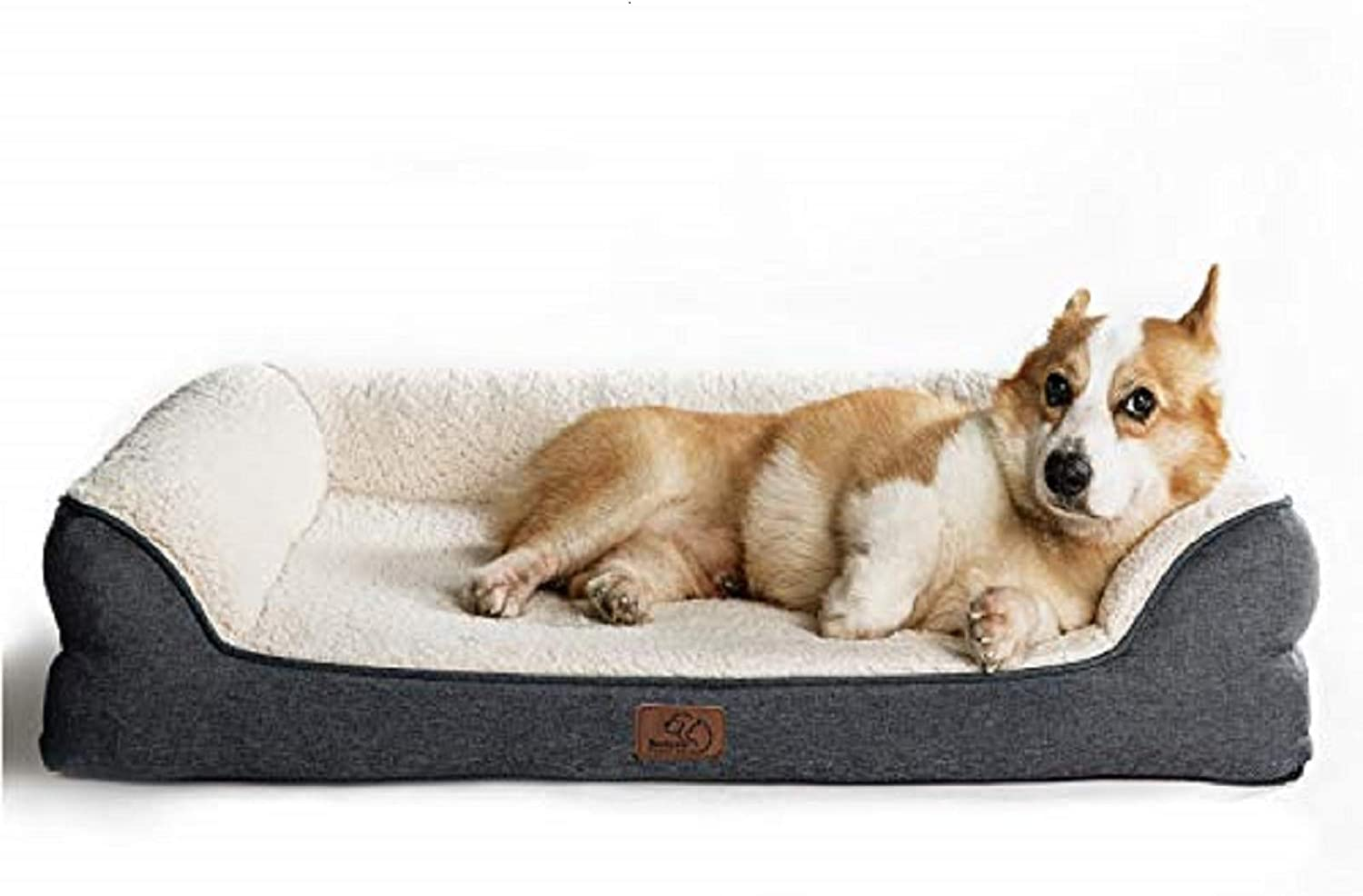 Bedsure Memory Foam Dog Bed