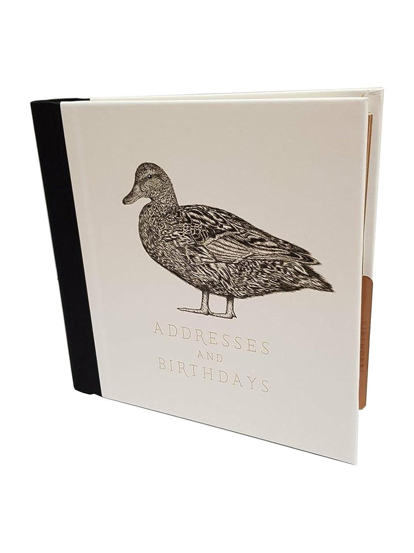 Libreta de direcciones – diseño de pato, de dirección y cumpleaños libro por el arte archivo