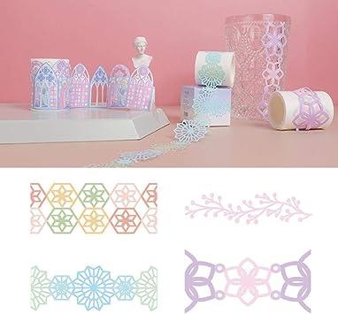 Decorative Washi Tape Gift Wrap Scrapbooking Album Cards DIY Paper Craft Sticker
