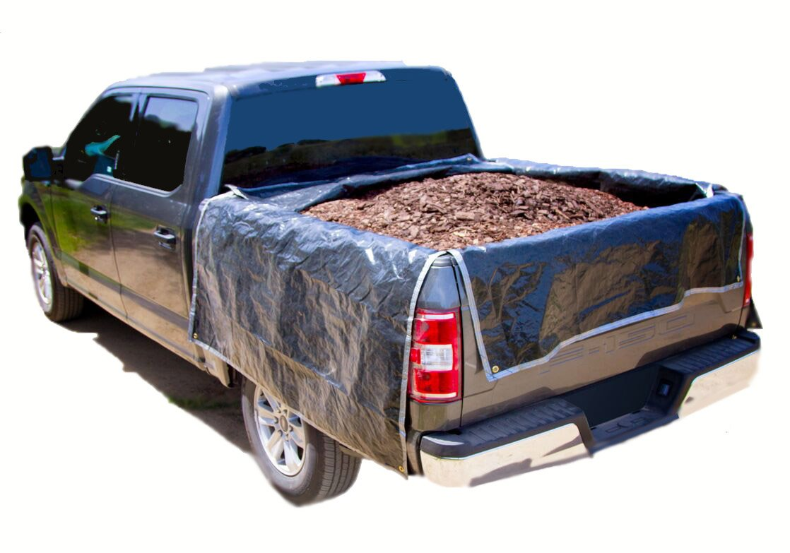Heavy duty portable truck bed liner, adjustable truck tarp to protect your full size and small truck bed (Large 90' - 100', Full Size Truck) adjustable truck tarp to protect your full size and small truck bed (Large 90 - 100 FS96