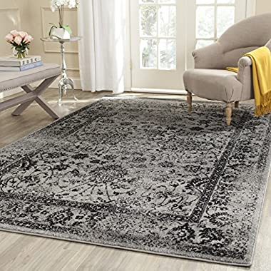 Safavieh Adirondack Collection ADR109B Grey and Black Area Rug, 9 feet by 12 feet (9' x 12')