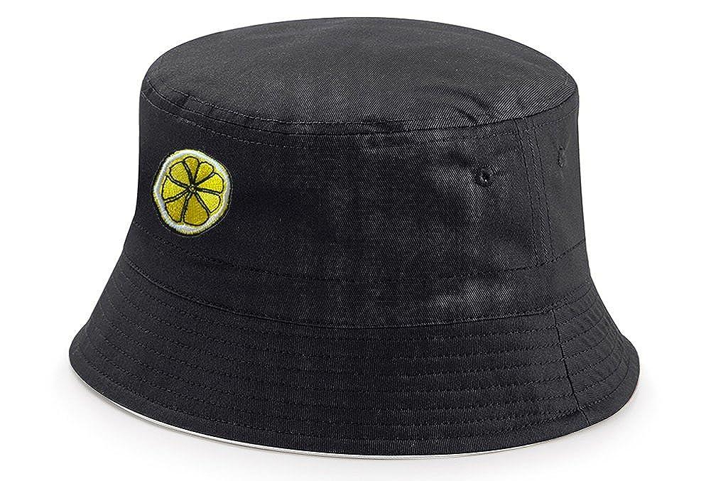 Next Weeks Washing The Roses Lemon Reversible Reni Bucket Hat