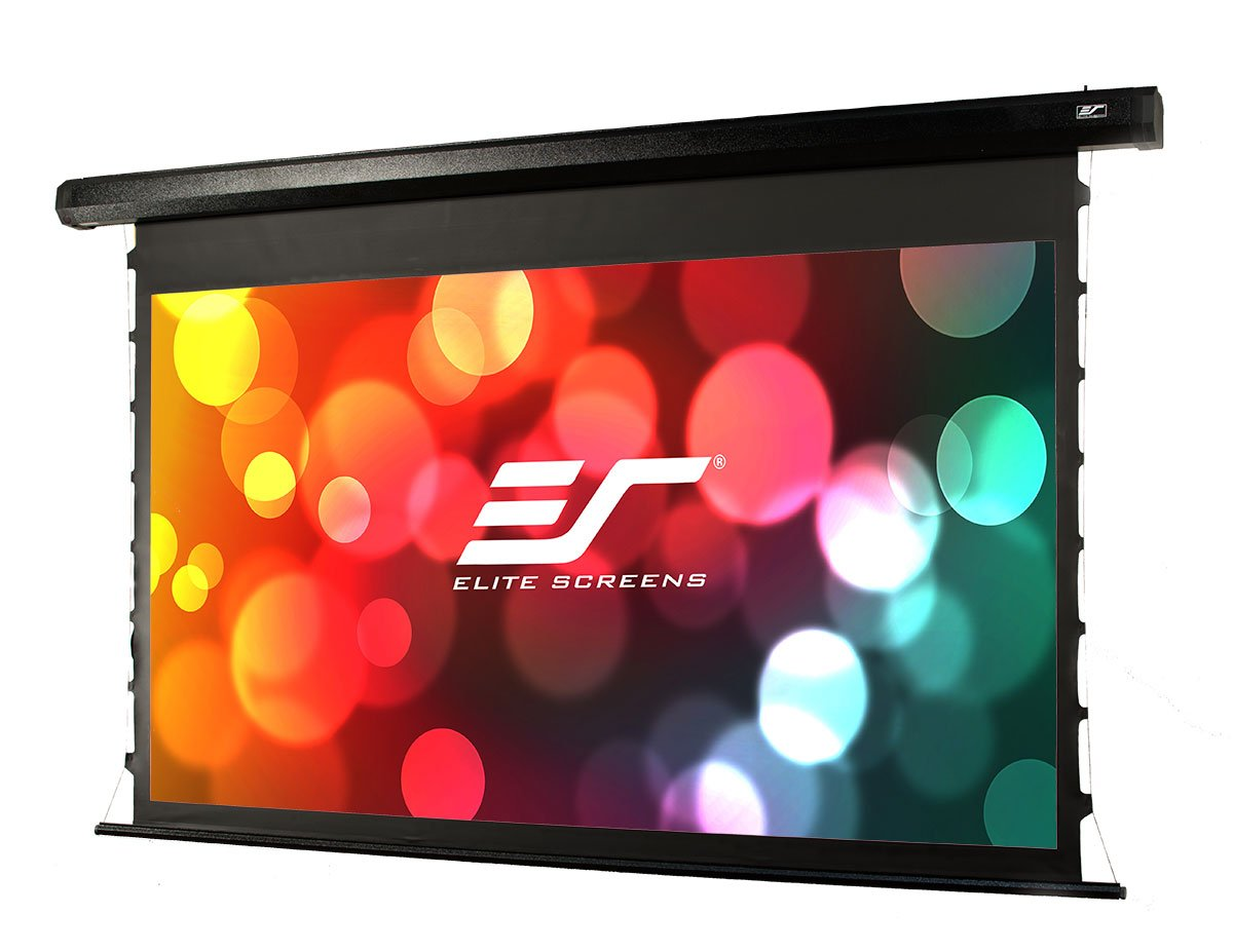 Amazon.com: Elite Screens CineTension 2, 100-inch Diagonal 4:3, 4K/8K  Tab-Tensioned Electric Drop Down Projection Projector Screen, TE100VG2:  Home Audio & ...