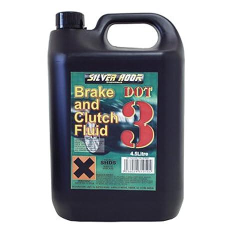 Silverhook Dot 3 freno y embrague líquido 4,54 litros