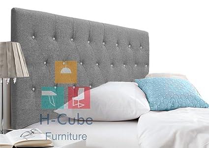 h-cube muebles Bloomfield tapizado acolchado cama con canapé base ...