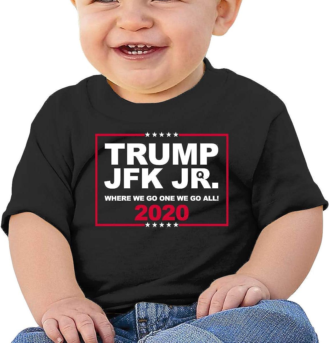 Trump JFK Jr All Cotton Unisex Baby Shirt Short Sleeve Shirts