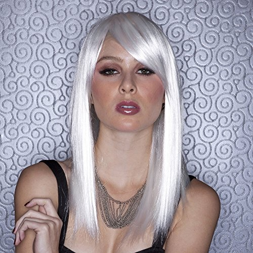 Blush Fortune Fantasy Style Synthetic Wig Snow