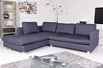 Machalke Sofa Ecksofa Crack C1900 Deepblue Amazon De Kuche Haushalt