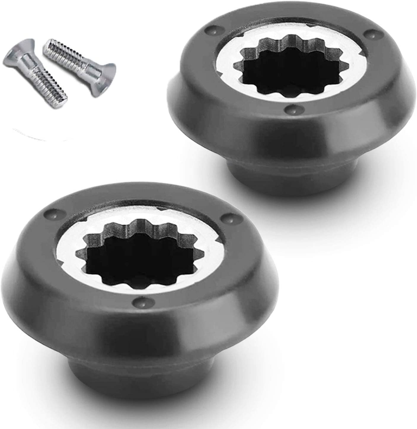 Drive Socket Kits, Replacement Blender Drive Socket Compatible with Nutri-Bulet RX 1700W, Base Gear Replacement Accessories Metal & Plastic (2 Pack)