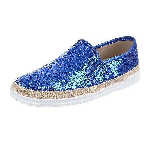 Schuhe Ital Design Slipper Damenschuhe Low Top Moderne