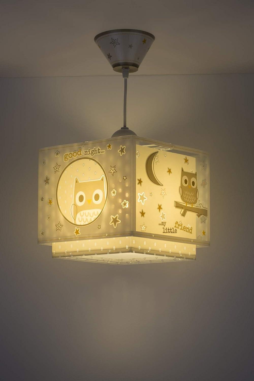Lampada da soffitto E-27 Dalber 24 x 24 x 21.5 Multicolore Buona notte
