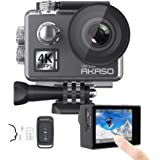 AKASO V50 Elite 4K/60fps Touch Screen WiFi Action Camera Voice Control EIS 40m Waterproof Camera Adjustable View Angle…