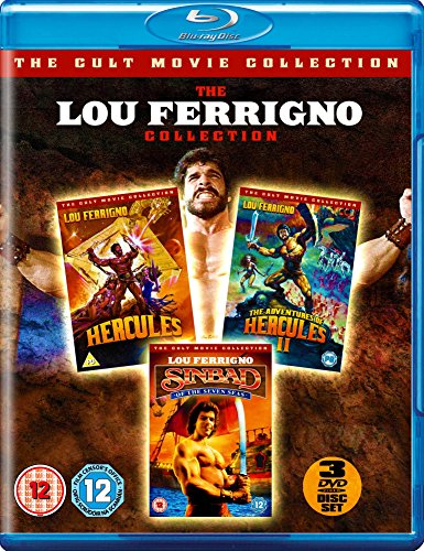 The Lou Ferrigno Collection - 3-Disc Set ( Hercules / The Adventures of Hercules II (Le avventure dell'incredibile Ercole) / Sinbad of the Seven Seas ) [ Blu-Ray, Reg.A/B/C Import - United Kingdom ]