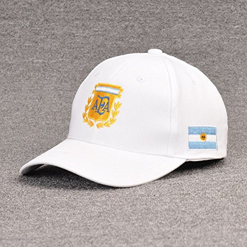 Un béisbol Mundo de wei del al de Gorra la tamaño de béisbol fútbol Copa Aficionados Gorra Argentina wZO0qg