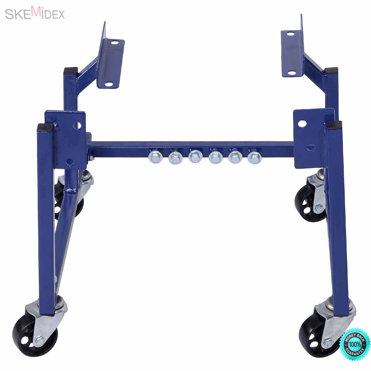 SKEMiDEX---New 1000lb Auto Engine Cradle Stand Ford Dolly Mover Repair Rebuild w/Wheels This is our 1000 LBS Ton Auto Engine Cradle for Ford, which is ideal for storing, transporting.