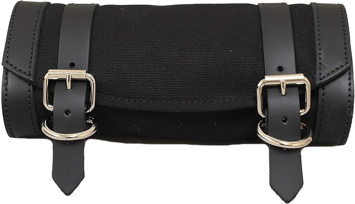 LaRosa Harley Universal Luggage Bag Black Canvas Sportster Softail Dyna