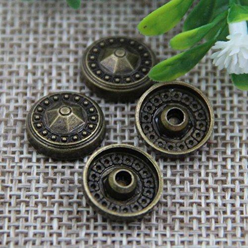 (50pcs New Convex Nail Large Round Metal Accessories Leather Decorative Rivets Environmental Cap Nails)