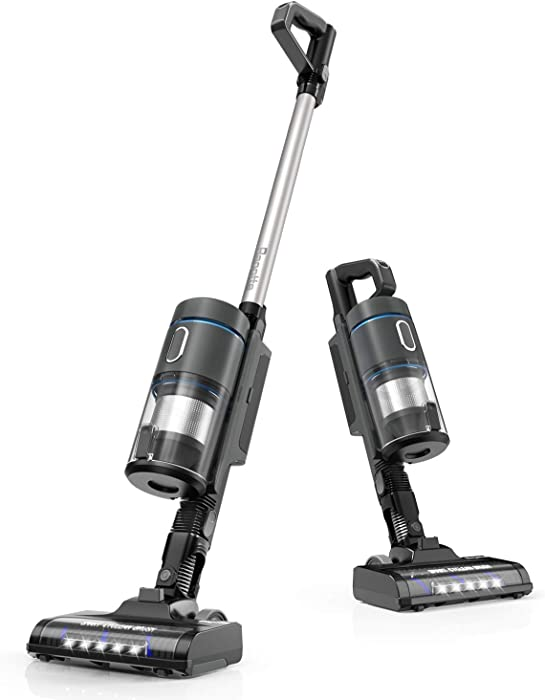 Bagotte Cordless Vacuum Cleaner, Powerful 9-in-1 Stick Vacuum Cleaner with 2400mAh Rechargeable Lithium-Ion Battery for Home Hardwood Floor Carpet and Pet Hair