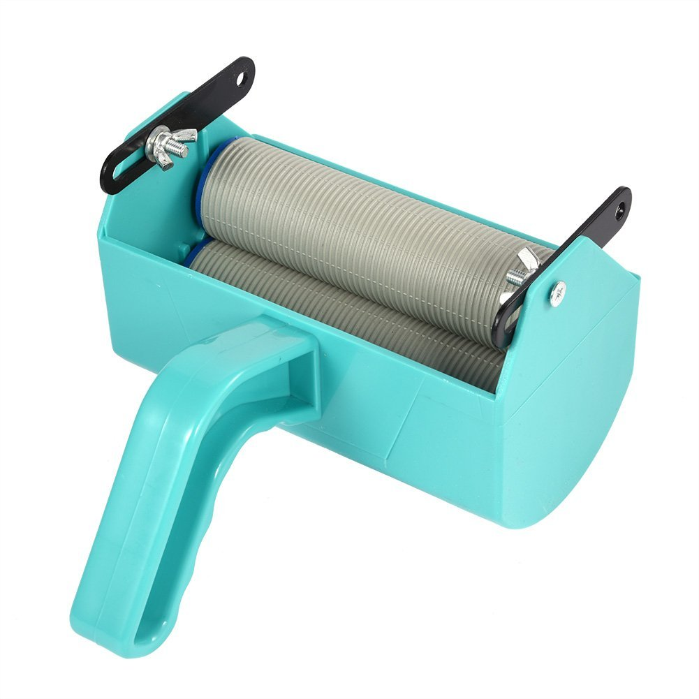 Zerodis Painting Machine Paint Roller for 5 Inch Roller Brush Green DIY Tool Home Wall Decoration
